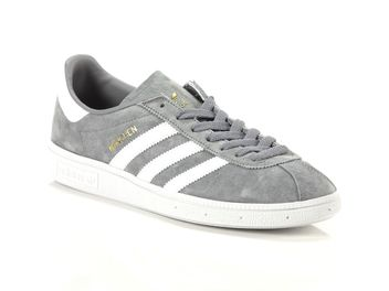 Grigio Uomo Scarpe Munchen Adidas 10 I6q5n