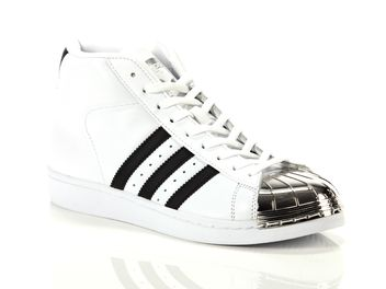 Adidas Pro Model Metal Toe W bianca big
