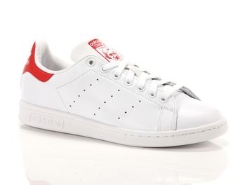 adidas stan smith rosse pelle