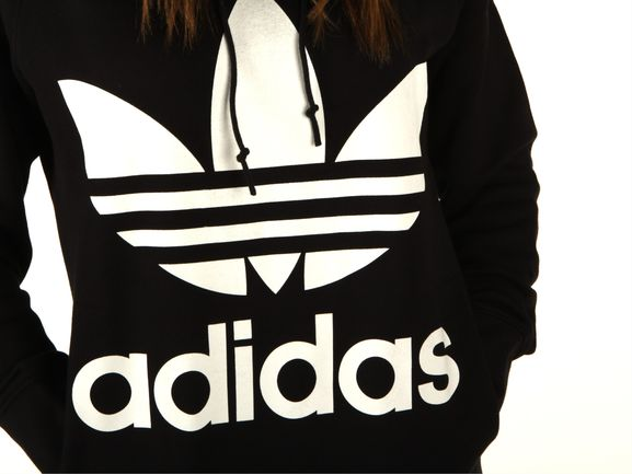 4d7bed3646 Adidas Trefoil hoodie Donna Ce2408 | YOUSPORTY