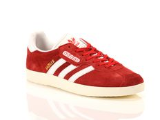 Sneakers Adidas Gazelle Super Red Vintage White Gold