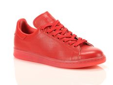 Sneakers Adidas Stan Smith Adicolor Rosse