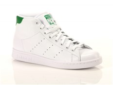 Sneakers Adidas Stan Smith Mid Bianco Verde