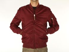 Giacca Alpha Industries MA 1 VF 59 Long Burgundy
