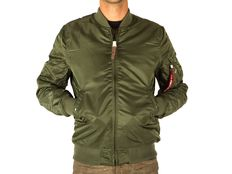 Giacca Alpha Industries MA 1 VF 59 Long Sage Green