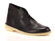 Polacchina Clarks Desert Boot Black