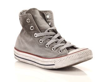 Converse All Star Chuck Taylor High Canvas LTD Op grigia big