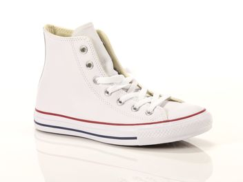 Converse Chuck Taylor All Star High Leather bianca big