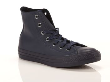 Converse Chuck Taylor All Star High Leather Blu  big