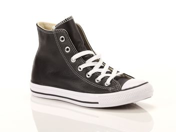 Converse Chuck Taylor All Star High Leather Core Black  big