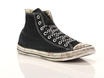 Converse Chuck Taylor All Star High Limited Edition Nere Bianche  big