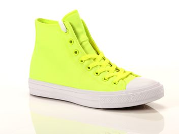 converse gialle fluo
