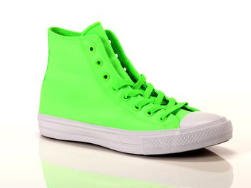 converse verde fluo