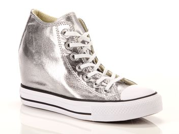 Converse Chuck Taylor All Star Mid Lux Canvas Metallic Textile big
