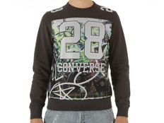 Felpa Converse Fleece Sweater Auth Man 28 Mesh