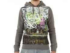 Felpa Converse Fleece Sweater Chuck Taylor Man All Photo Print Hood