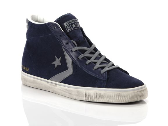Pro Leather Vulc Mid Suede Distressed