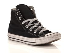 Sneaker alta Converse All Star Chuck Taylor High Canvas LTD Nere Smoke In