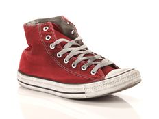Sneaker alta Converse All Star Chuck Taylor High Canvas LTD Red Smoke In