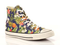 Sneaker alta Converse All Star Hi Canvas Graphics tropical