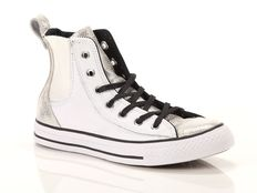 Sneaker alta Converse Chuck Taylor All Star Chelsee Leather Bianco