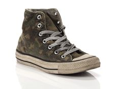 Sneaker alta Converse Chuck Taylor All Star High Canvas LTD Camo Distressed Smoke
