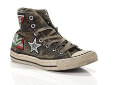 Sneaker alta Converse Chuck Taylor All Star High Canvas LTD Camo Graduate Patchwork