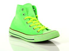 Sneaker alta Converse Chuck Taylor All Star High Canvas LTD Neon Green