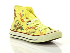 Sneaker alta Converse Chuck Taylor All Star High Canvas LTD Yellowprint Dragon