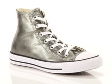 Sneaker alta Converse Chuck Taylor All Star High Canvas Metallic Textile