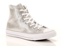 Sneaker alta Converse Chuck Taylor All Star High Leather Metallic