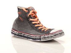 Sneaker alta Converse Chuck Taylor All Star High Limited Edition Nere Corallo