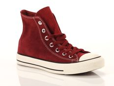 Sneaker alta Converse Chuck Taylor All Star High Suede Red