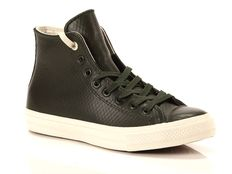 Sneaker alta Converse Chuck Taylor All Star II High Leather Backed Mesh Black