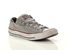 Sneaker alta Converse Chuck Taylor All Star Ox Canvas LTD Optical White Smoke In