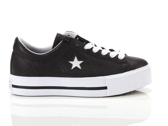 Converse One star platform ox leather