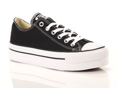 Sneakers Converse All Star Chuck Taylor Ox Platform Nere