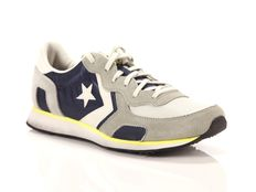 Sneakers Converse Auckland Racer Ox Wrinkle Distressed Navy Ghost Grey Buff