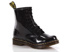 Boots Dr Martens Anfibio 1460 W Boot Nero Lucido