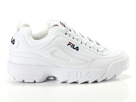 Fila Disruptor low white Woman 1010302