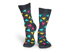 Calzino Happy Socks Metallic Triangle Sock Special