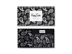 Calzino Happy Socks Paisley Men s Trunk and Sock Combo Box