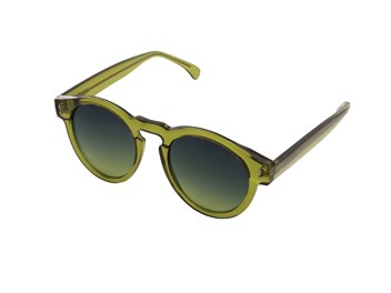 Komono Clement Sunglasses Gold Green  big
