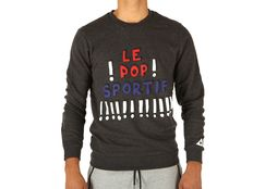 Felpa Le Coq Sportif Pop Sportif Crew Sweat M Dark Heather Gr