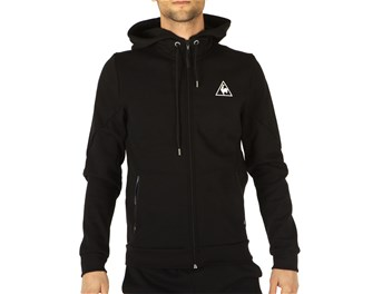 Le Coq Sportif Tech FZ Hood M Black big