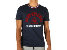 T-shirt Le Coq Sportif Asse Tee SS M Dress Blues
