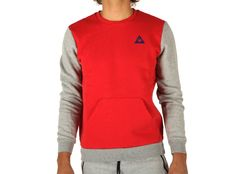 T-shirt Le Coq Sportif Helior Rouge Light