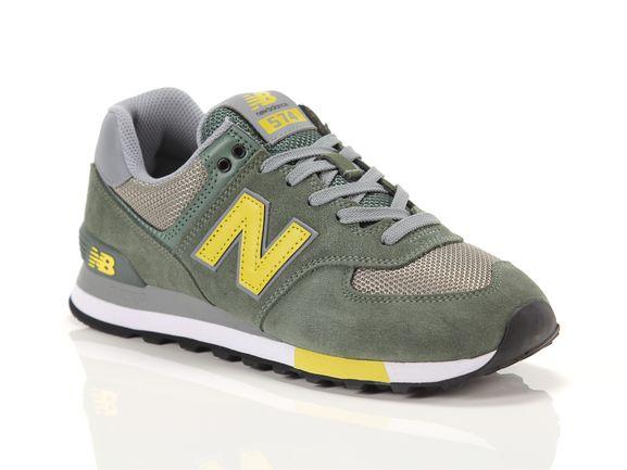 New balance 574 green grey light green