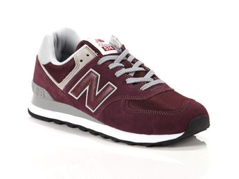 new balance 574 uomo bordeaux