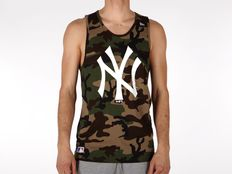 Canotta New Era MLB Team App Logo Tank New York Yankees Camo